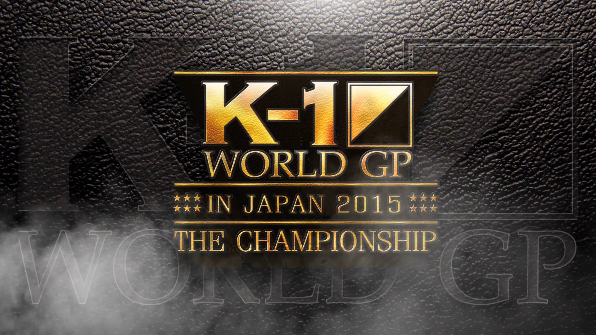 K-1 World GP The Championship