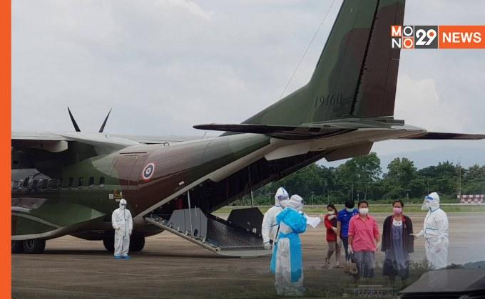 ทบ. เดินหน้านำทรัพยากรช่วยประชาชน จัดเที่ยวบินที่ 3 เครื่องบิน C-295 สานต่อภารกิจบินส่งผู้ป่วยโควิดกลับบ้าน